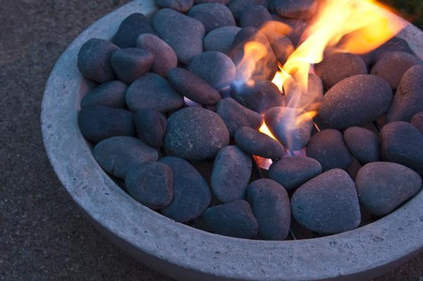 fogueira acessa
