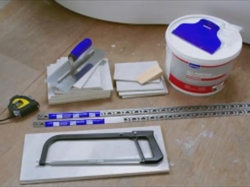 materiais para colocar azulejo no vão da janela