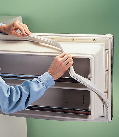 trocar borracha da geladeira 2