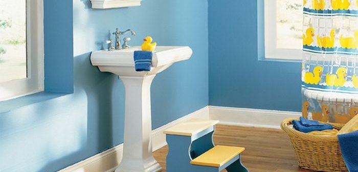 banheiro de criança bem decorado