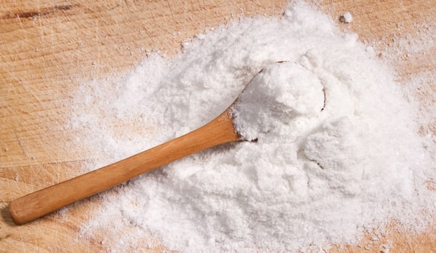 bicarbonato de sódio em pó
