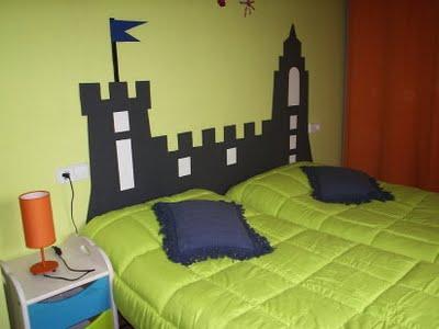 cabeceira castelo de papelão