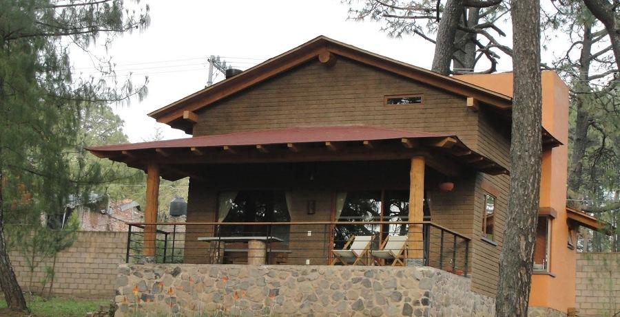 casa construida com tijolos de adobe 2