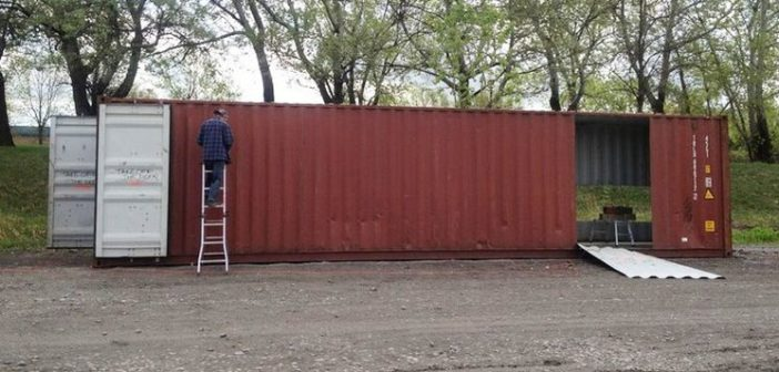 container inteiro para reformar