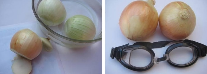 cortar cebola sem chorar