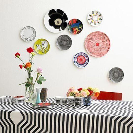 decorar pratos na parede 2