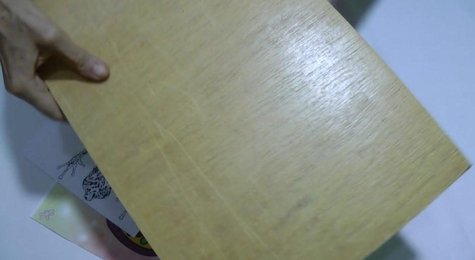 madeira transferir foto