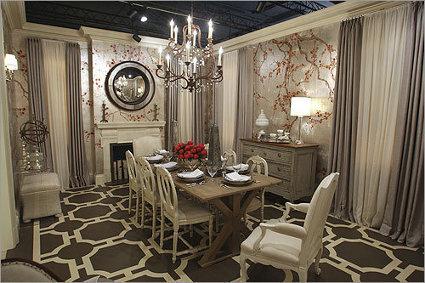 mesa de jantar 8 lugares clássica