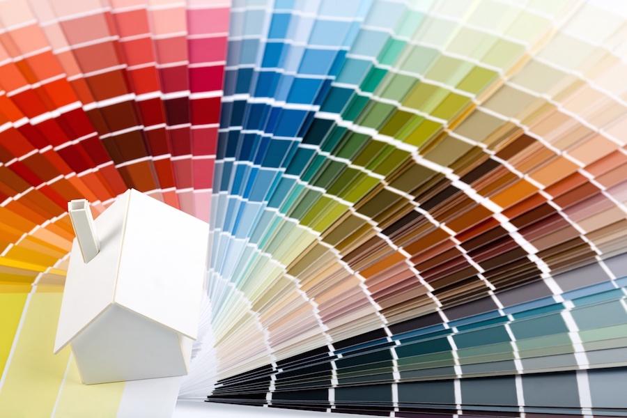 Como escolher a cor para paredes da sala assim que faz for Moda en pintura de paredes