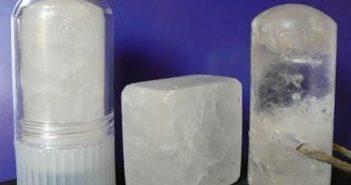 pedra hume em 3 formatos