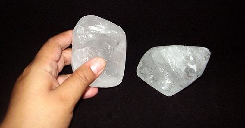 pedra hume polida
