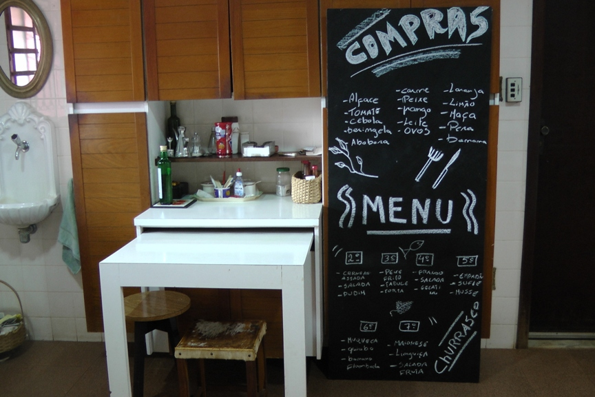 Resultado de imagem para quadro negro cozinha