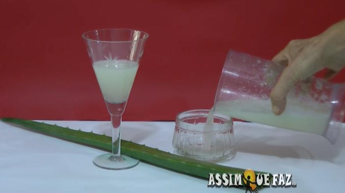 o suco de aloe vera pode ser usado em diversas ocasiões
