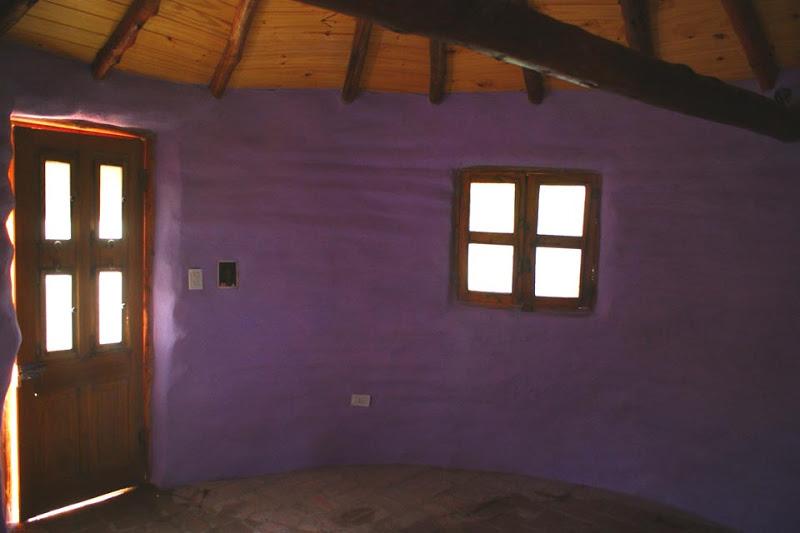 interior da casa toda com reboque