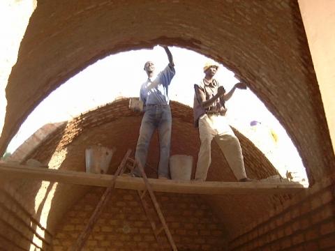 construido telhado numa dome home