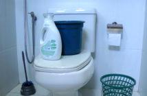 truque para desentupir vaso sanitário