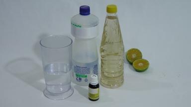 vinagre álcool limão