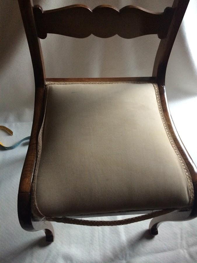 estofar cadeira velha
