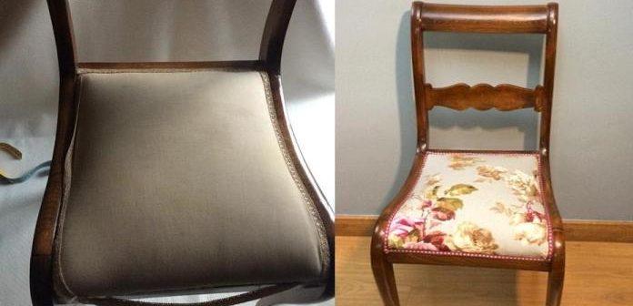 Como Renovar o Estofado da Cadeira