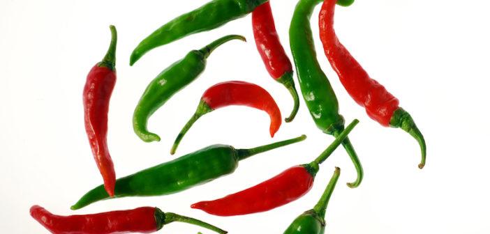 pimentas chilies
