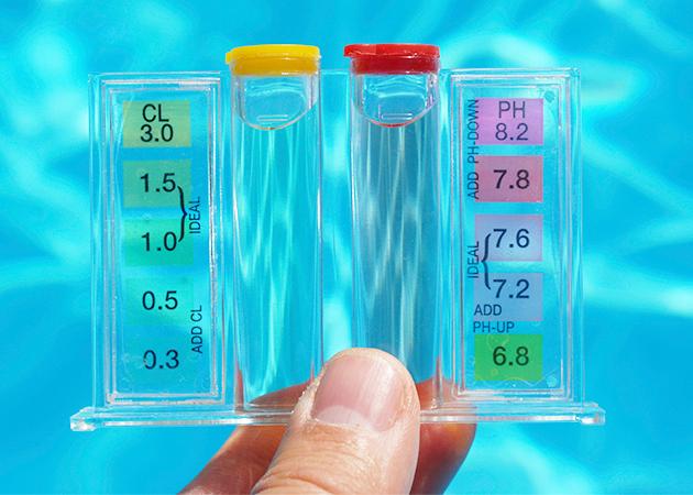 corrigindo o ph da piscina com carbonato de sódio