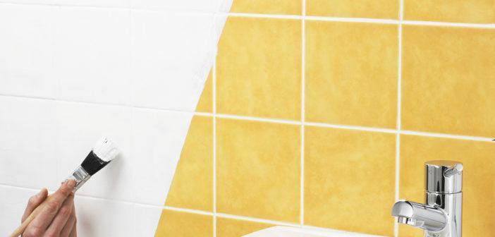 Banheiro novo sem obras – Como pintar o azulejo