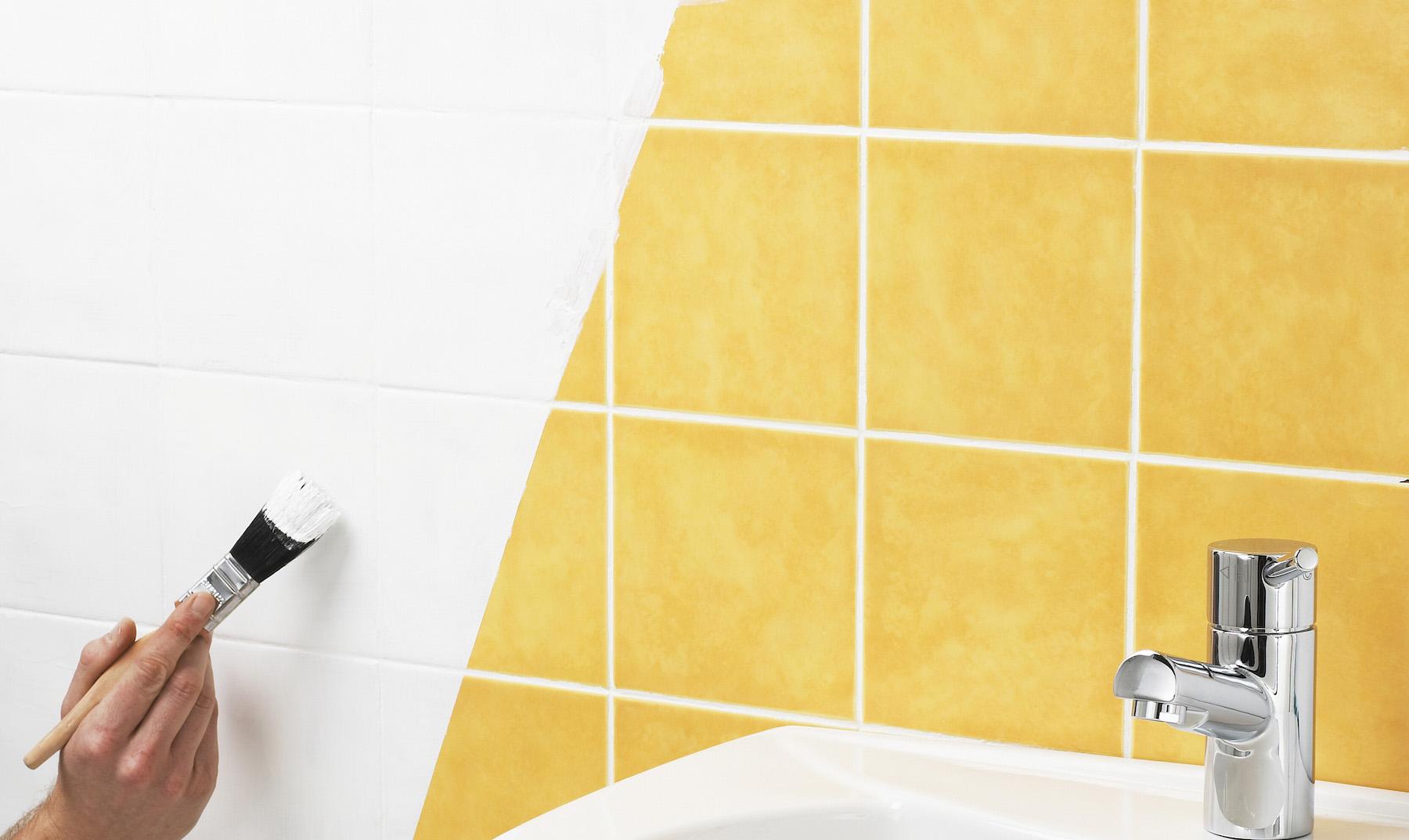Banheiro novo sem obras como pintar o azulejo assim - Pintar azulejo ...