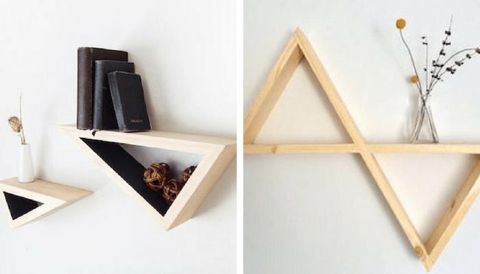 estante de triángulo 3