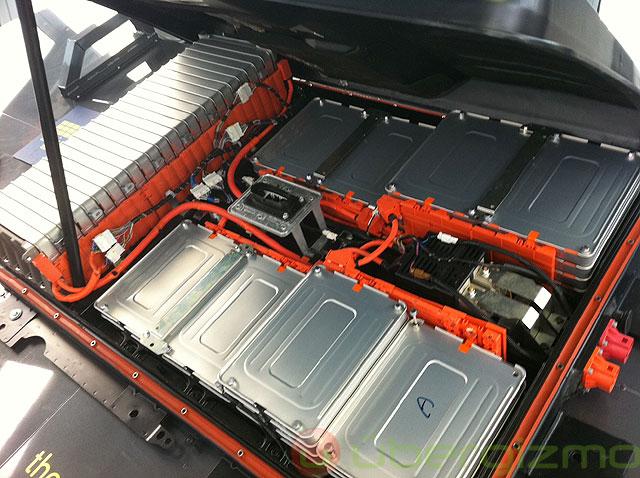 Batería do carro elétrico Nissan