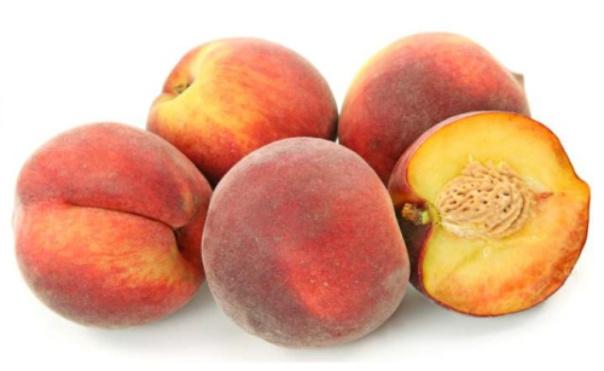 varias frutas pêssegos