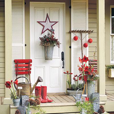 varanda com detalhes de jardineiro