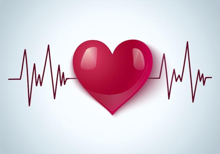 desenho de um coração saudável