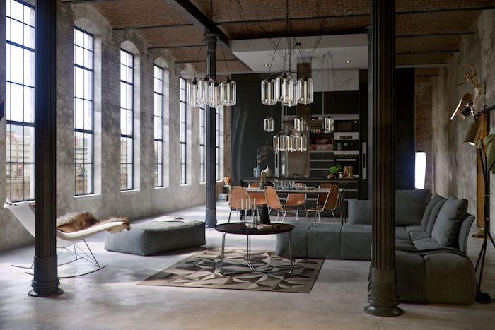 janelas grandes estilo industrial