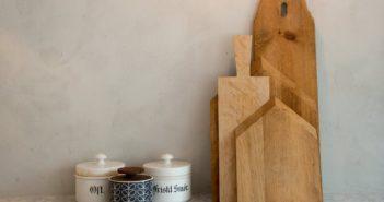 tábuas de cozinha de diferentes tamanhos