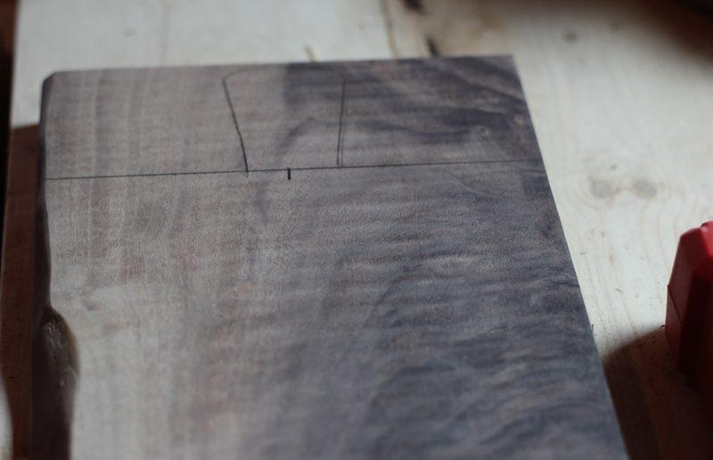 madeira com desenho