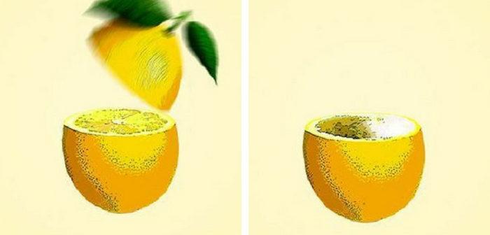 casca de limão