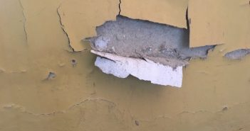 umidade grande na parede