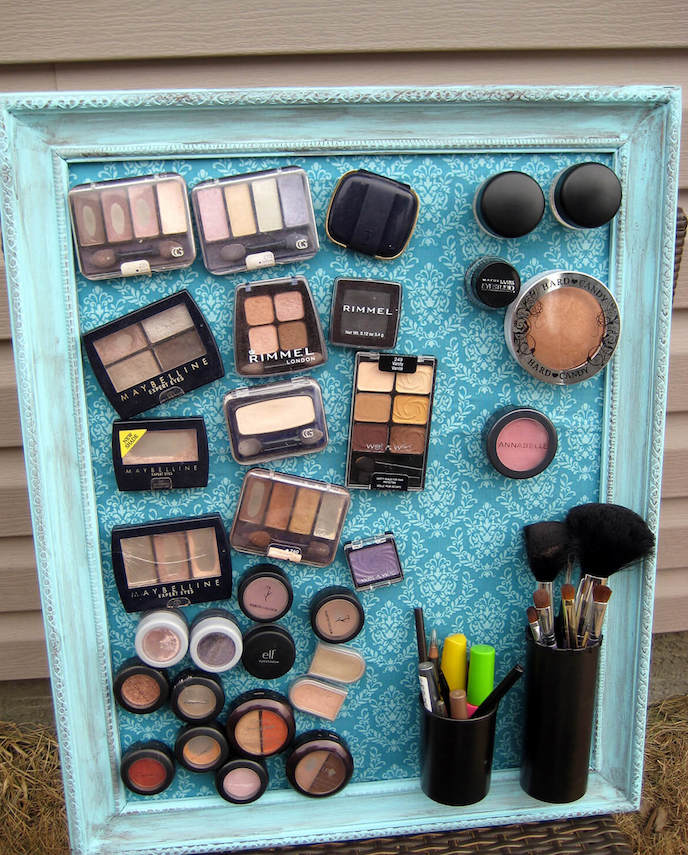 quadro magnético para maquiagem