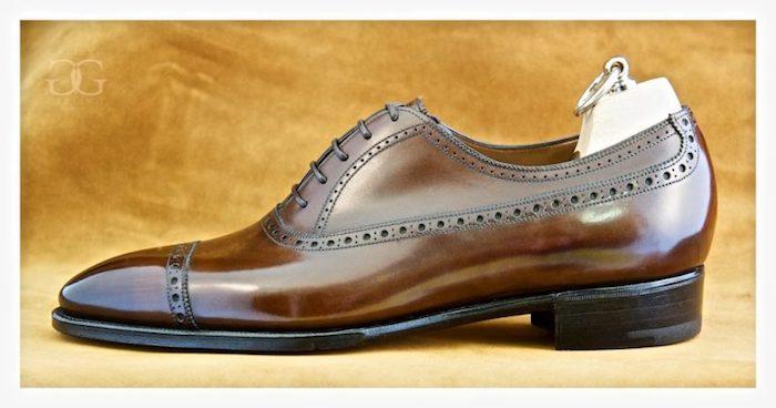 sapatos masculino de couro