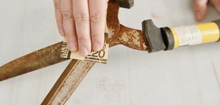 6 maneiras eficientes para remover ferrugem com coisas que você tem
