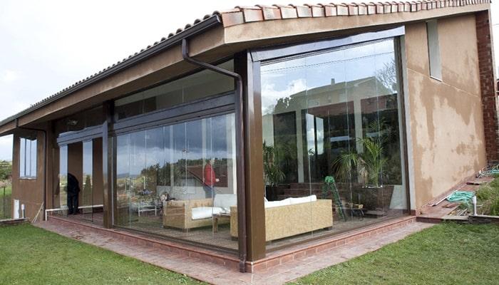 varanda fechada com vidro