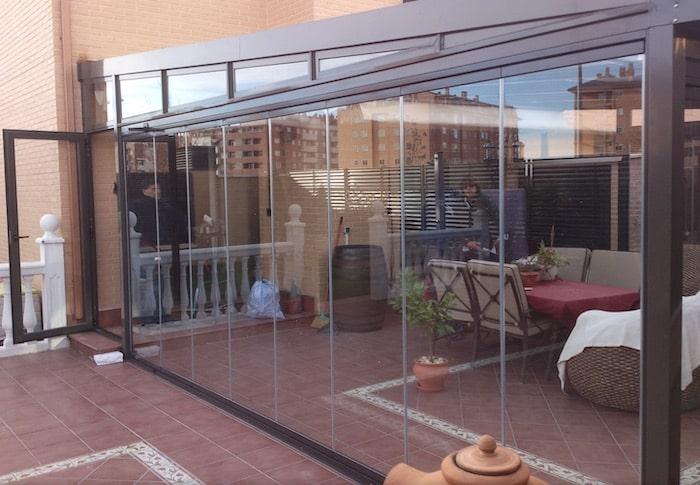 varanda fechada vidro