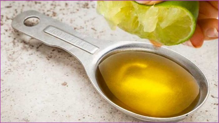 azeite com limão jejum