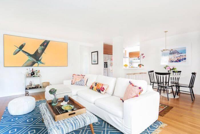 sala pequena estilo minimalista