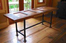 mesa estilo industrail