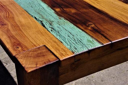 madeira de cores