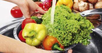 Como limpar frutas e vegetais – Remover pesticidas