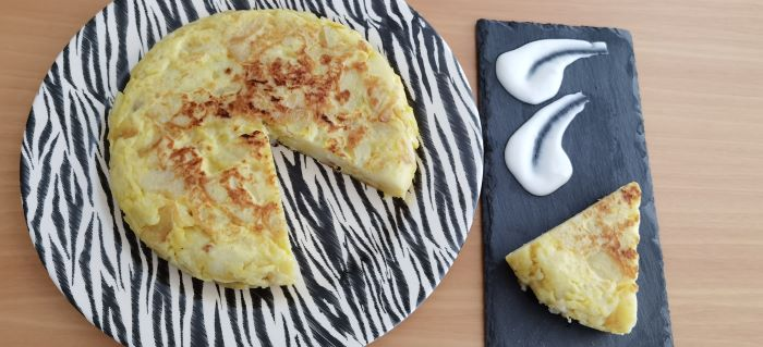 Tortilha de Batata Espanhola –  A verdadeira