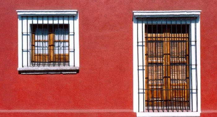 Cores da fachada