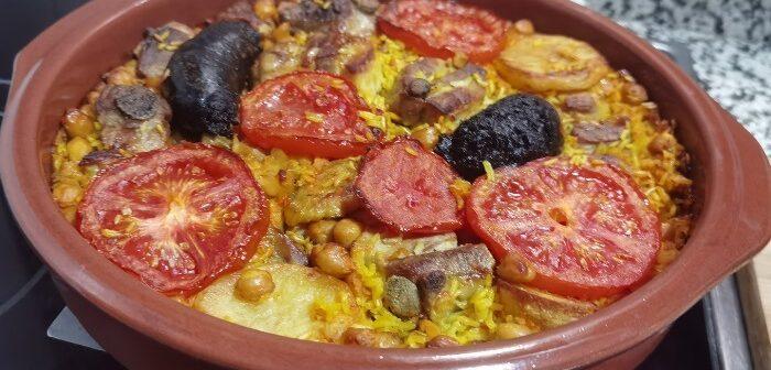 Arroz estilo Valenciano ao forno
